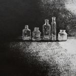 Little Found Bottles - Etching - Edition of 12