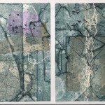 No Thoroughfare - Collograph Print with Chine Colle - Edition of 1