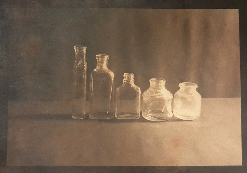 Little Bottles-Cyanotype