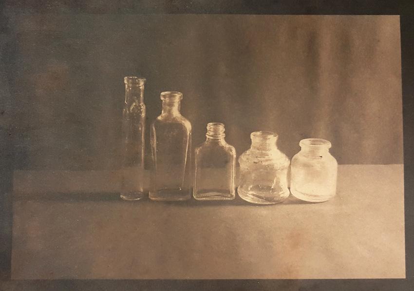 Little Bottles-Cyanotype