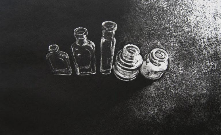 Little Empty Bottles - Etching