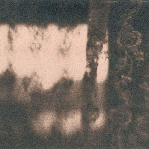 Cyanotype Lace Curtain